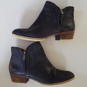 Lucky Brand Sz 8 Brenon Leather Booties